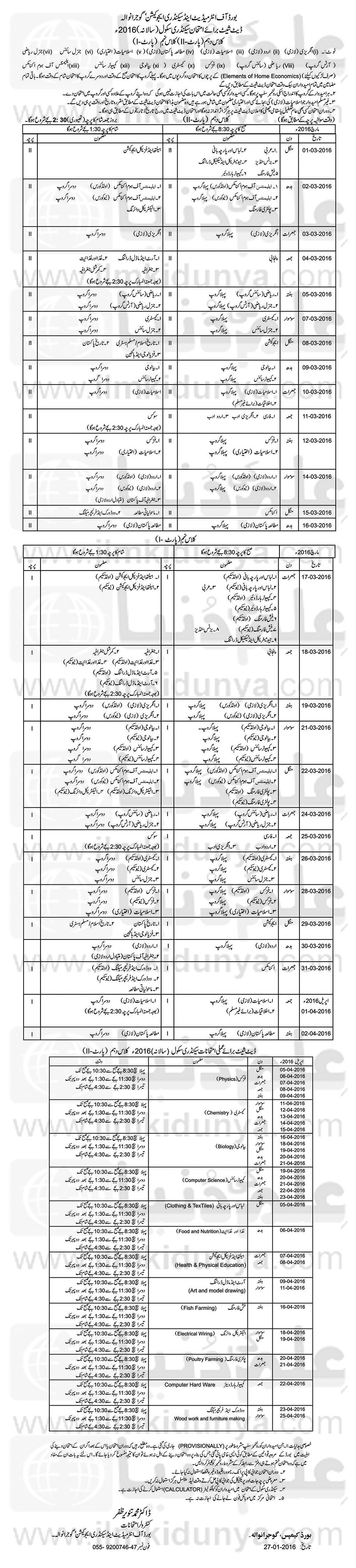 uptodate papers gujranwala board intermediate Bise gujranwala past paper-2015 click here to download past  papers 2015 gujranwala board inter part 1 physics click here to.