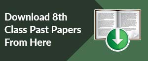 Download 8th Class Past Papers From Here