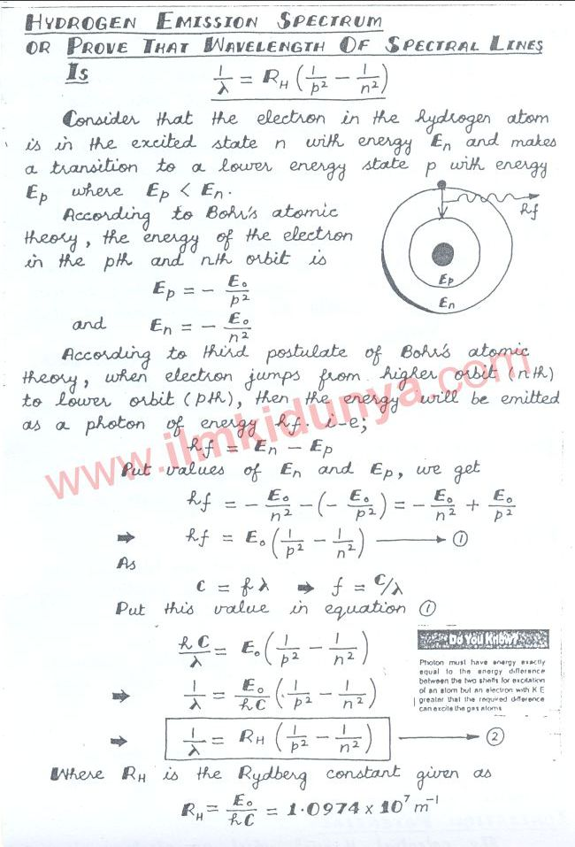 physics notes for class 12 pdf