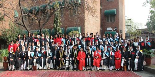 Govt College Of Home Economics Lahore Organized Its 45th Convocation