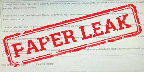 BISE Karachi board Chemistry inter part 2 paper leaks out just